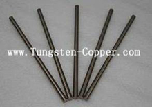 copper tungsten rod picture