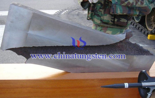 tungsten alloy armor plate image