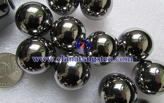 tungsten alloy ball for prefabricated fragments image