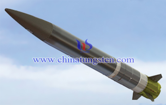 tungsten alloy blast fragmentation warhead image