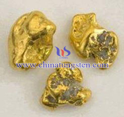 tungsten fake gold