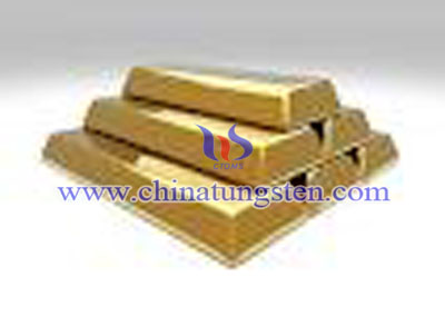 tungsten fake gold brick