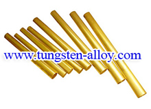 Gold-plated Tungsten  Rod