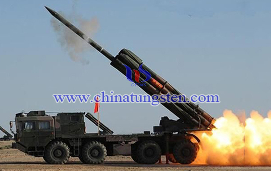 tungsten alloy high explosive projectile image