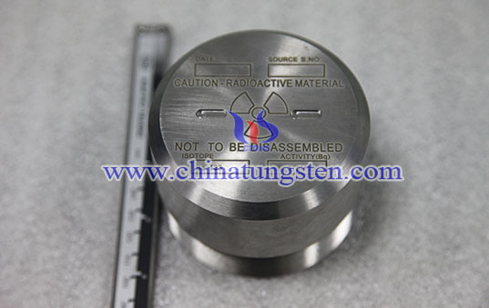 tungsten alloy medical radiation shield image