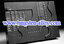 tungsten alloy microelectronic