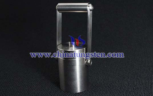 tungsten alloy shielded container image