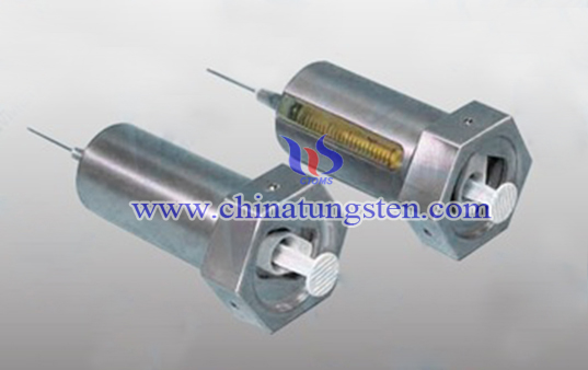 tungsten alloy shielding device for syringe image
